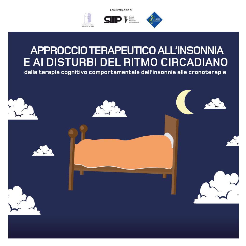 Course Image APPROCCIO TERAPEUTICO ALL'INSONNIA E AI DISTURBI DEL RITMO CIRCADIANO – Edizione 4