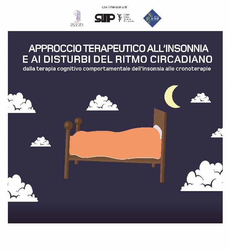 Course Image APPROCCIO TERAPEUTICO ALL'INSONNIA E AI DISTURBI DEL RITMO CIRCADIANO